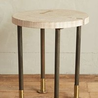 TinsburySide Table by Anthropologie in Natural Size: Side Table Furniture