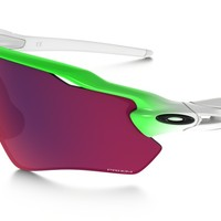 Oakley Radar EV Path PRIZM Road Green Fade Edition in Green Fade / PRIZM ROAD | Oakley