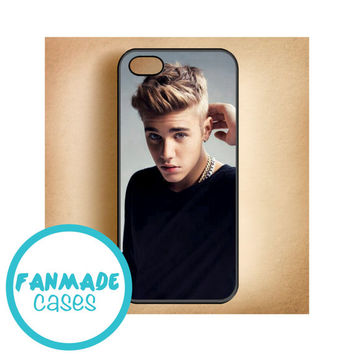 Justin Bieber iPhone 4/4s 5/5s/5c & iPod 4/5 Rubber Case