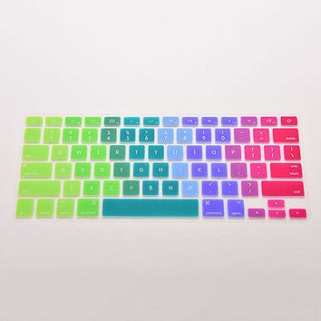 Flexible Silicon Keyboard Cover Keypad Skin for Mac Macbook Air Pro 13 15 17 HU