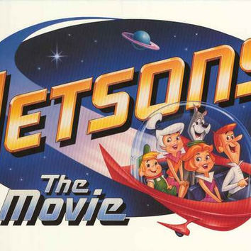 The Jetsons 1990 Cartoon Movie Poster 23x35