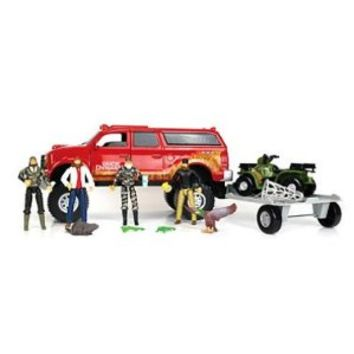 Duck Dynasty Truck & Trailer Toy Set 19 Piece