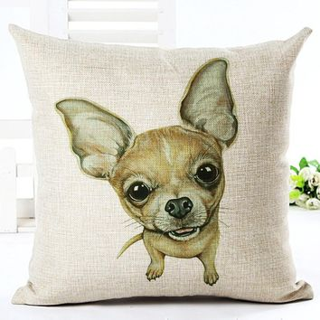 New Home Decor Cojines Pet Dogs Cushion Sofa Throw Pillow