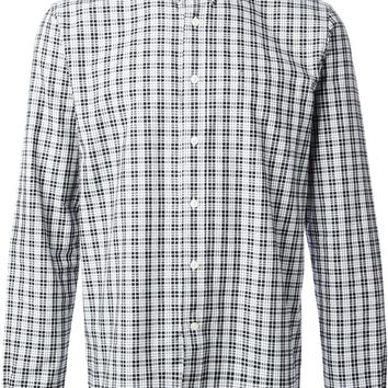 Ami Alexandre Mattiussi checked Oxford shirt