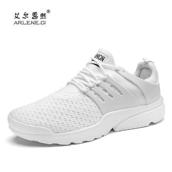 2018 New Arrival Men Air Mesh Tennis Shoes for Men Trainers Spor 704dd423d0