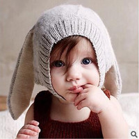 Winter Baby Boy Or Girl Rabbit Ears Hat