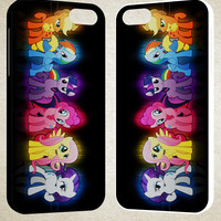 my little pony rainbow A1787 iPhone 4S 5S 5C 6 6Plus, iPod 4 5, LG G2 G3, Sony Z2 Case