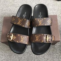 Louis Vuitton  Fashion Flats Sandals  Shoes