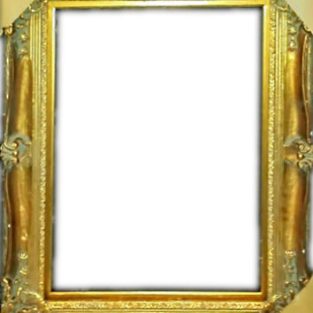 20th Century Gold Gilt Picture Frame 20x24