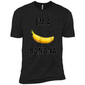 I'm a banana  - Halloween Banana Costume  Next Level Premium Short Sleeve Tee
