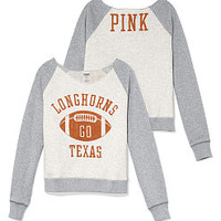 University of Texas Slouchy Crew - PINK - Victoria's Secret