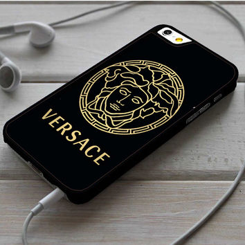 Versace Black And Gold 2 iPhone 6|6 Plus Case Dollarscase.com