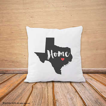 State map pillow cover-US state map pillow-europe state map pillow-decorative pillow-home decor-wedding gift-gift idea-NATURA PICTA-NPCP076