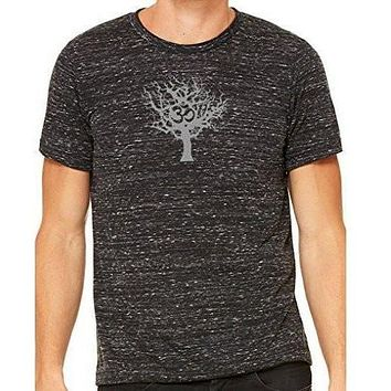 Mens Tree of Life Marble Tee Shirt
