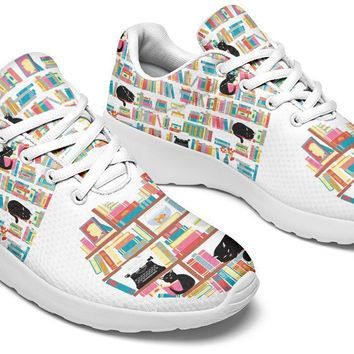 Cat Heart Books Sneakers