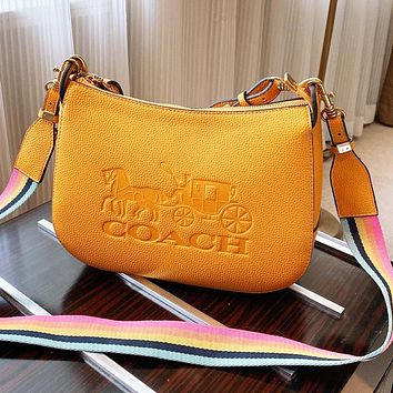 Coach Bag Women Bag Crossbody Bag Shoulder Bag Small Bag Yellow