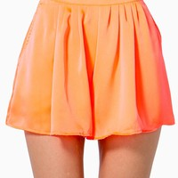 Jodie Pleated Shorts