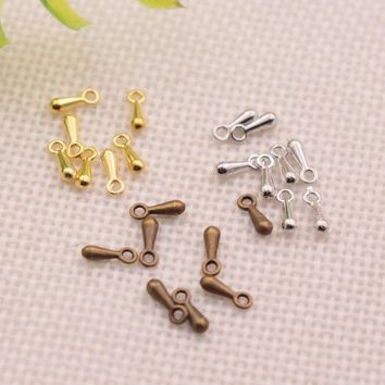 50pcs Tail chain/extension chain jewelry for jewelry making necklace/Bracelets/hair/Keychain rcomponents DIY jewelry Accessories