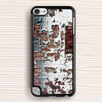 old paint wall ipod case,personalized ipod 4 case,wall ipod 5 case,art wall ipod touch 4 case,old wall ipod touch 5 case,timeworn wall ipod case