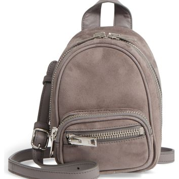 Alexander Wang Mini Attica Leather Crossbody Backpack | Nordstrom