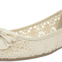 Wanted Shoes Women's Magda Skimmer,Natural,8 M US