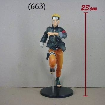 Naruto Sasauke ninja 22cm  Action Figures Running  Shippuden The Last Movie Figure PVC Figurine Toys  Anime Japanese Anime Figure AT_81_8