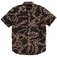 Stussy Bambooze S/S Woven - Men's at CCS