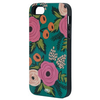 Spanish Rose iphone 5 + 5s case - Inlay