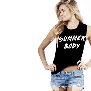 Summer Body Tank-Luxury Brand LA