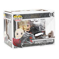 Funko Game Of Thrones Pop! Rides Daenerys & Drogon Vinyl Collectible