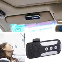 Bluetooth 3.0 Handfree Dual Link Visor Mount Car Multipoint Speakerphone Kits D_L = 1708620484