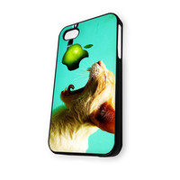 Cat Kitten Eating Apple iPhone 5C Case