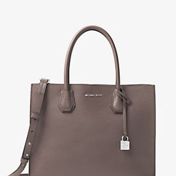 Mercer Large Leather Tote | Michael Kors
