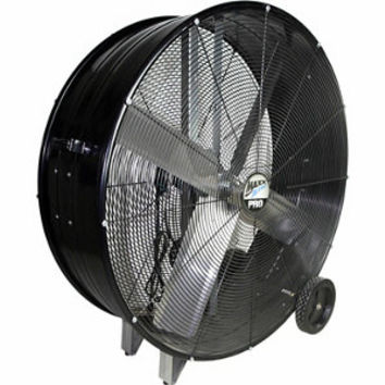 Ventamatic 42 in. Drum Fan, Black - For Life Out Here