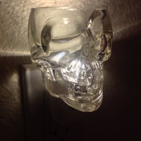 Crystal Head Shot Glass Nightlight