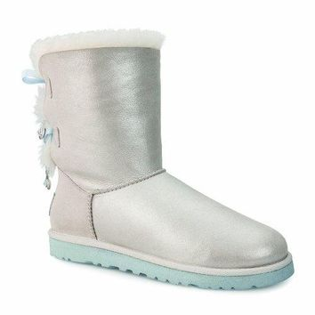 UGG Women's Bailey Bow Bling I Do  UGG Kids' I Jesse Bow Boot  UGG boots with bows