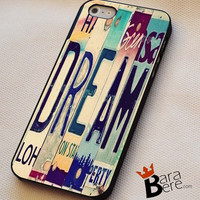 Dream iPhone 4s iphone 5 iphone 5s iphone 6 case, Samsung s3 samsung s4 samsung s5 note 3 note 4 case, iPod 4 5 Case