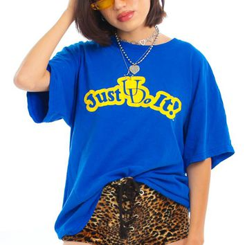 Vintage 90's Just U Do It Tee - One Size Fits Many