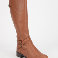 Soda Bio Womens Boots Cognac  In Sizes