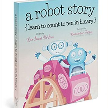 A Robot Story Board book – June 15, 2014