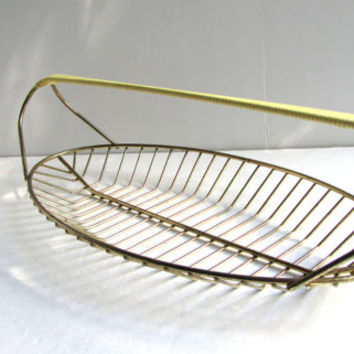 Vintage Eames Era Wire Oblong Basket