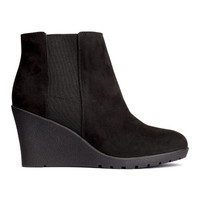 H&M Boots with Wedge Heel $34.99
