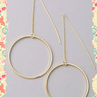 Circles and Lines Earrings