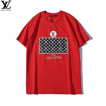 Louis Vuitton LV Woman Men Fashion Tunic Shirt Top Blouse