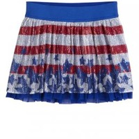 Sequin Flag Skirt | Free To Be Girly | Hottest Outfits | Shop Justice