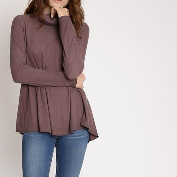 Touch My Heart Turtleneck Knit Top | Ruche