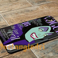 Vogue Maleficent For - iPhone 4 4S iPhone 5 5S 5C and Samsung Galaxy S3 S4 Case
