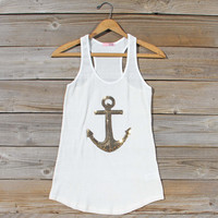 Sequin Sailor Tank