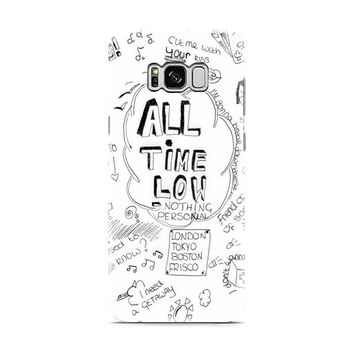 ALL TIME LOW DOODLE Samsung Galaxy S8 | Galaxy S8 Plus Case