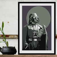 Star Wars Art DARTH FADER Size A